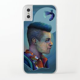 Mr. Robot and Qwerty Clear iPhone Case