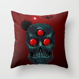 Horror From Beyond Time and Spaaaaaaace! Throw Pillow