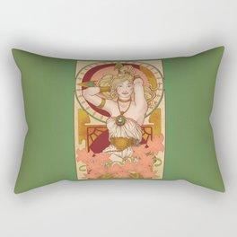 Chronos Nouveau Rectangular Pillow