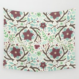 Winter Foliage Wall Tapestry
