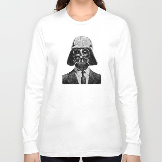 Darth Vader portrait #2 Long Sleeve T-shirt