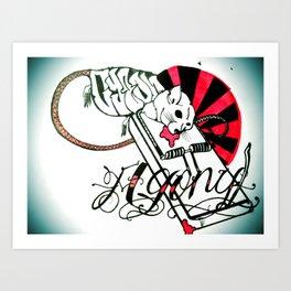 agony Art Print