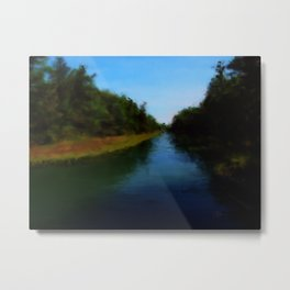 Carrying Place, Hancock Maine Metal Print