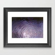 Purple Rain (Angeles National Forest) Framed Art Print