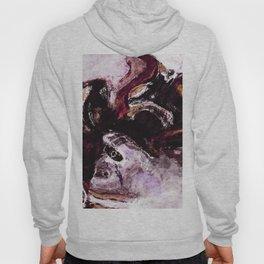 Purple Abstract Art / Surrealist Painting Hoody