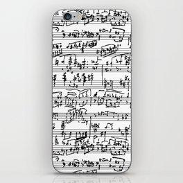Hand Written Sheet Music iPhone Skin
