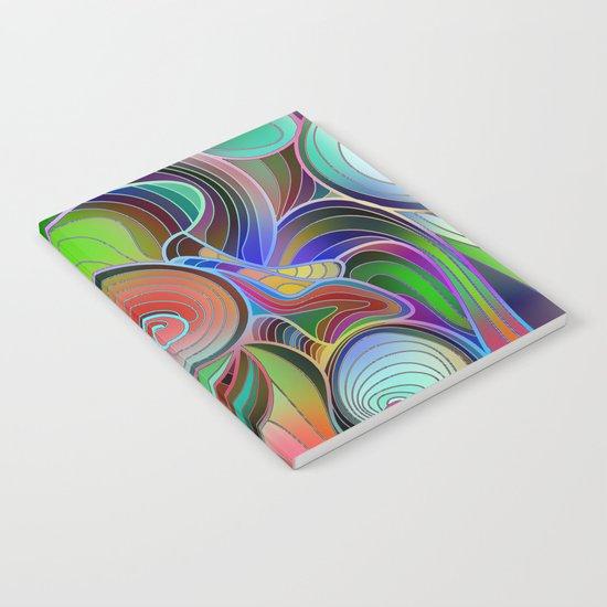 Rainbow Swirl Notebook