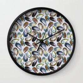 Mussels Wall Clock