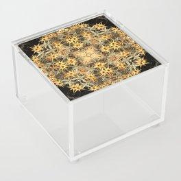Yellow flowers Acrylic Box