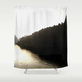 Shores Of Darkness Shower Curtain