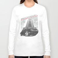 nightmare Long Sleeve T-shirts featuring Nightmare by Tshirt-Factory