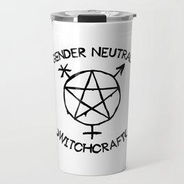 Gender Neutral Witchcraft (simple) Travel Mug