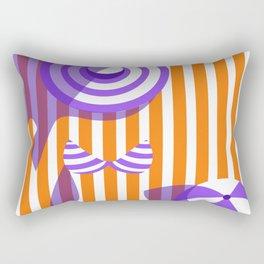 Beach Girl  Rectangular Pillow