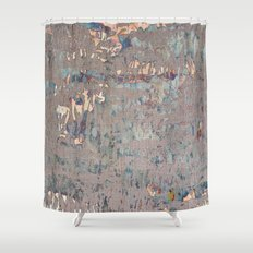 Muddy weather Shower Curtain