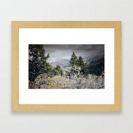 Cold Nights Framed Art Print