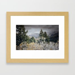 Cold Nights Framed Art Print
