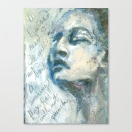 A Bruised Reed Canvas Print
