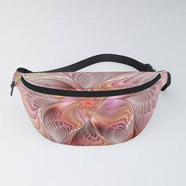 Abstract Butterfly, Fantasy Fractal Fanny Pack