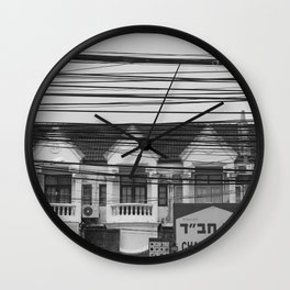 Cables III Wall Clock