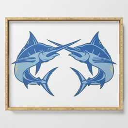 Sailfish is one of the most hardest fishes to catch Serving Tray