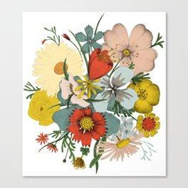 Flower Wad Canvas Print