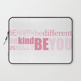 Be You - Pink Laptop Sleeve