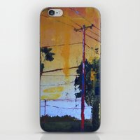 hollywood iPhone & iPod Skins featuring Hollywood by Marissa Girard