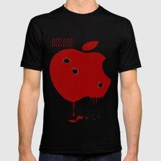 Apple Kill Mens Fitted Tee MEDIUM Black