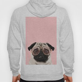 Intellectual Pug Hoody