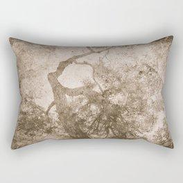 Vintage delicate tree pattern Rectangular Pillow