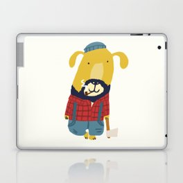 Rugged Roger - the lumberjack Laptop & iPad Skin