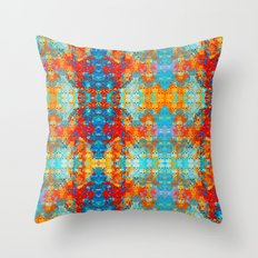 popanaart_pattern Throw Pillow