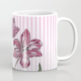 Maria Sibylla Merian: Three Tulips Coffee Mug