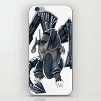 charizard iPhone & iPod Skins featuring Meta Charizard by VictorVieitez