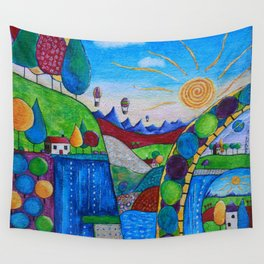 Daydream Valley Wall Tapestry