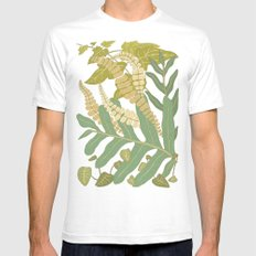 Ferns Mens Fitted Tee SMALL White