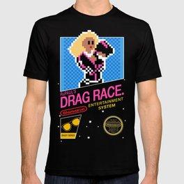 Rupaul's Drag Race - 8 Bit NES T-shirt