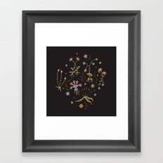 Flora of Planet Hinterland Framed Art Print
