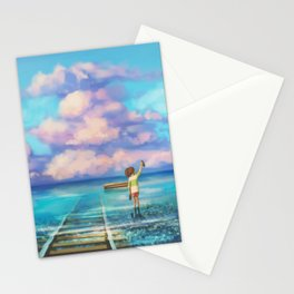 Sen Departure Stationery Cards