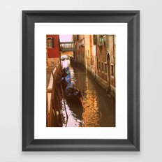 All in a Day's Work. Framed Art Print