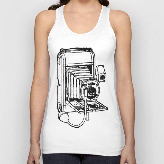 Camera. Unisex Tank Top
