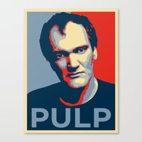 pulp Canvas Prints featuring Pulp! by LilloKaRillo