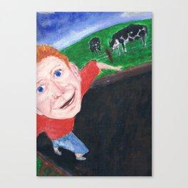 Selfy Freedom  Canvas Print