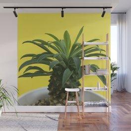 Euphorbia hypogaea(yellow) Wall Mural