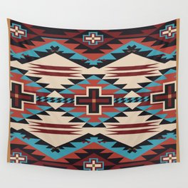 American Native Pattern No. 67 Wall Tapestry