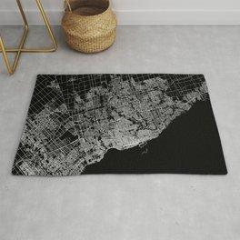 toronto map Rug