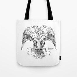 Two-headed eagle as Masonic symbol Tote Bag