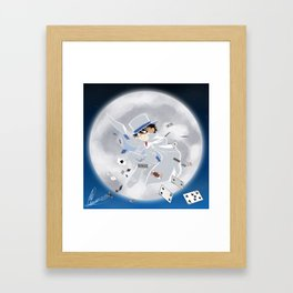 Chibi Kaito Kid Framed Art Print