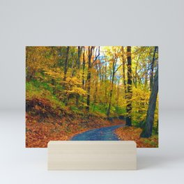 Autumn in Pennsylvania Mini Art Print