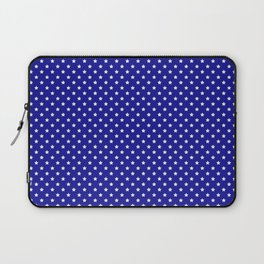 Blue and White Stars Laptop Sleeve